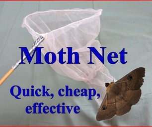 Moth Net – Quick, Cheap and Effective