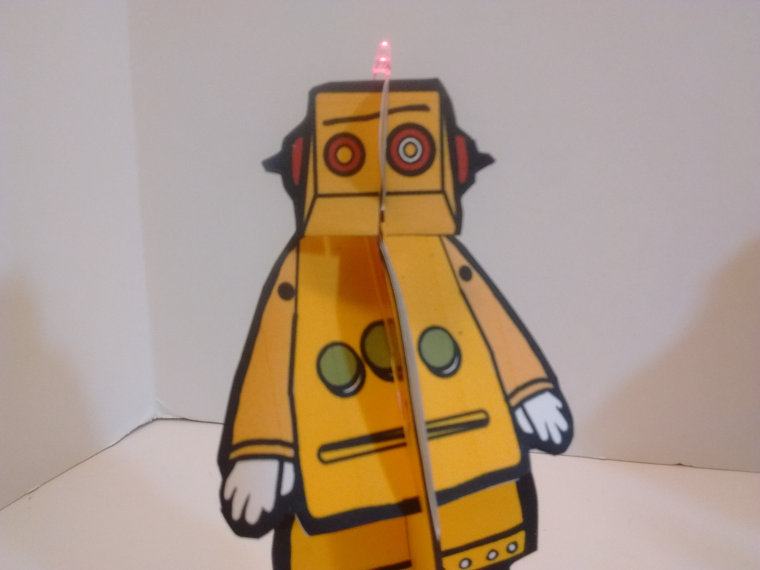 Picture of Why Do You Need a Blinky Paper Robot?