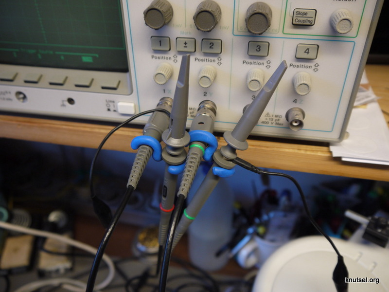 Picture of Scope Probe Hangers With Sugru