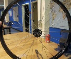 @TechShop Menlo Park: building a bicycle wheel