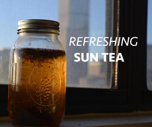 Refreshing Sun Tea!