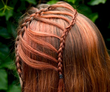How to Do a Double Waterfall Braid