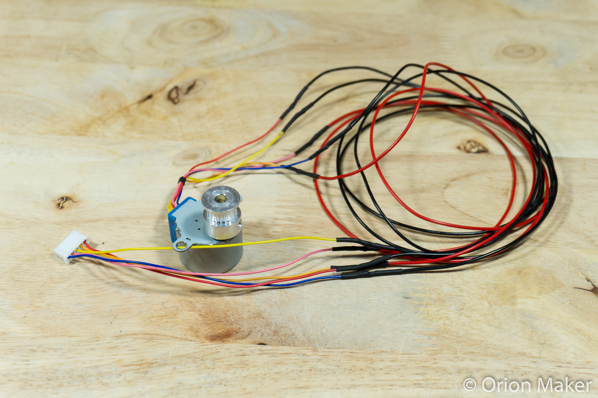Picture of Extend Motor Wires