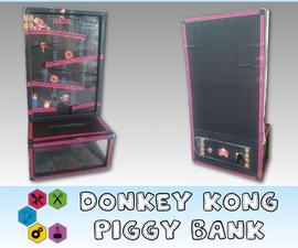 How to Make a Donkey Kong Coin Drop Piggy Bank