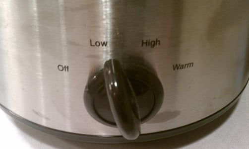 Set Crock Pot to Low
