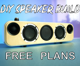 Portable Bluetooth + WiFi Speaker Build