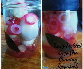 Easy Pickled Eggs (No Canning Required)