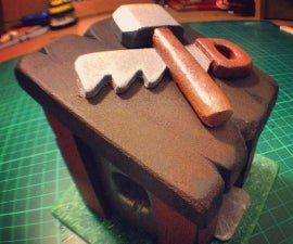 Making a Builders Hut from Clash of Clans