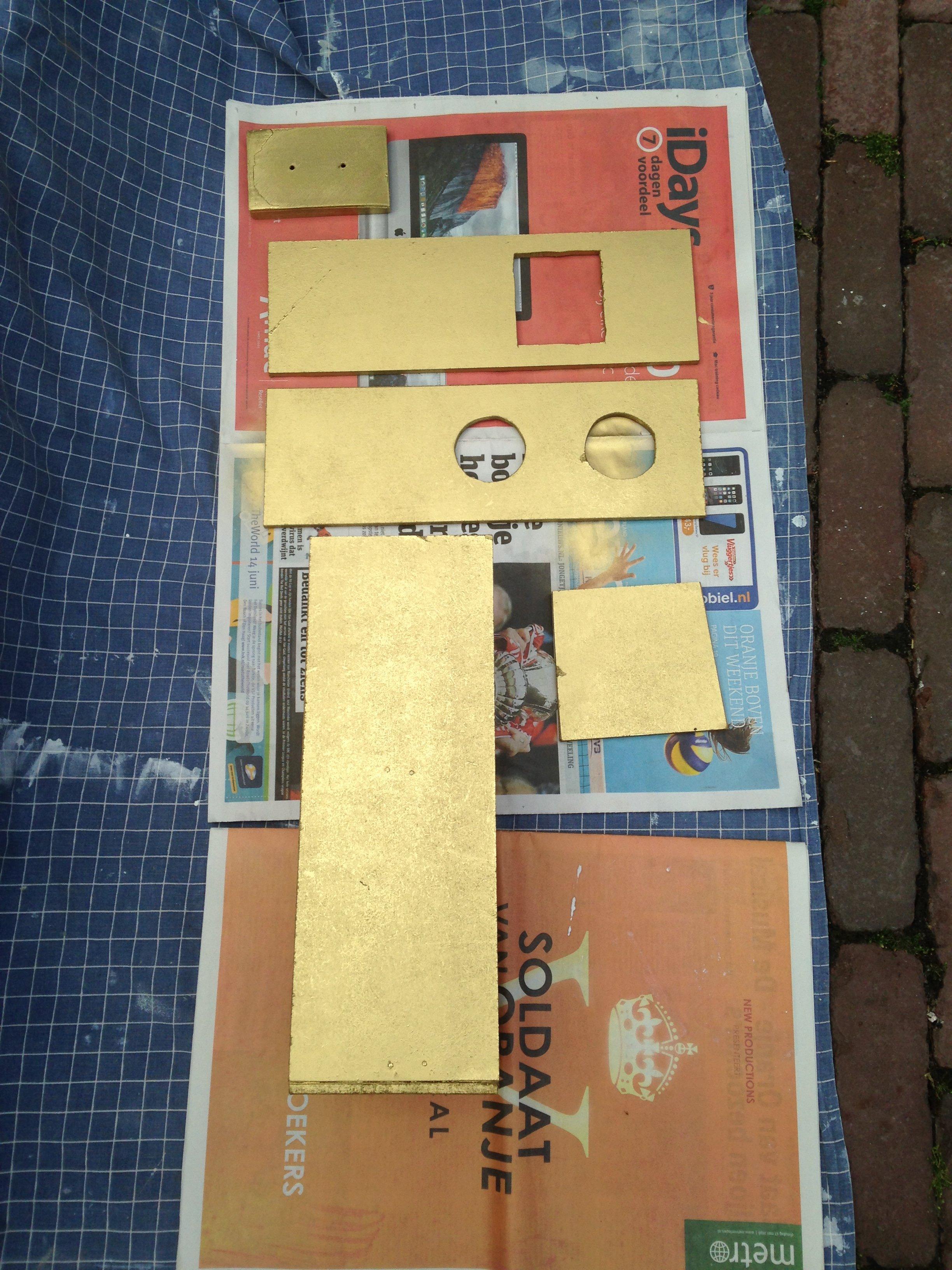 Picture of Stap 1: Zaagwerk En Timmerwerk