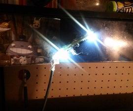 5-Minute USB workbench lamp