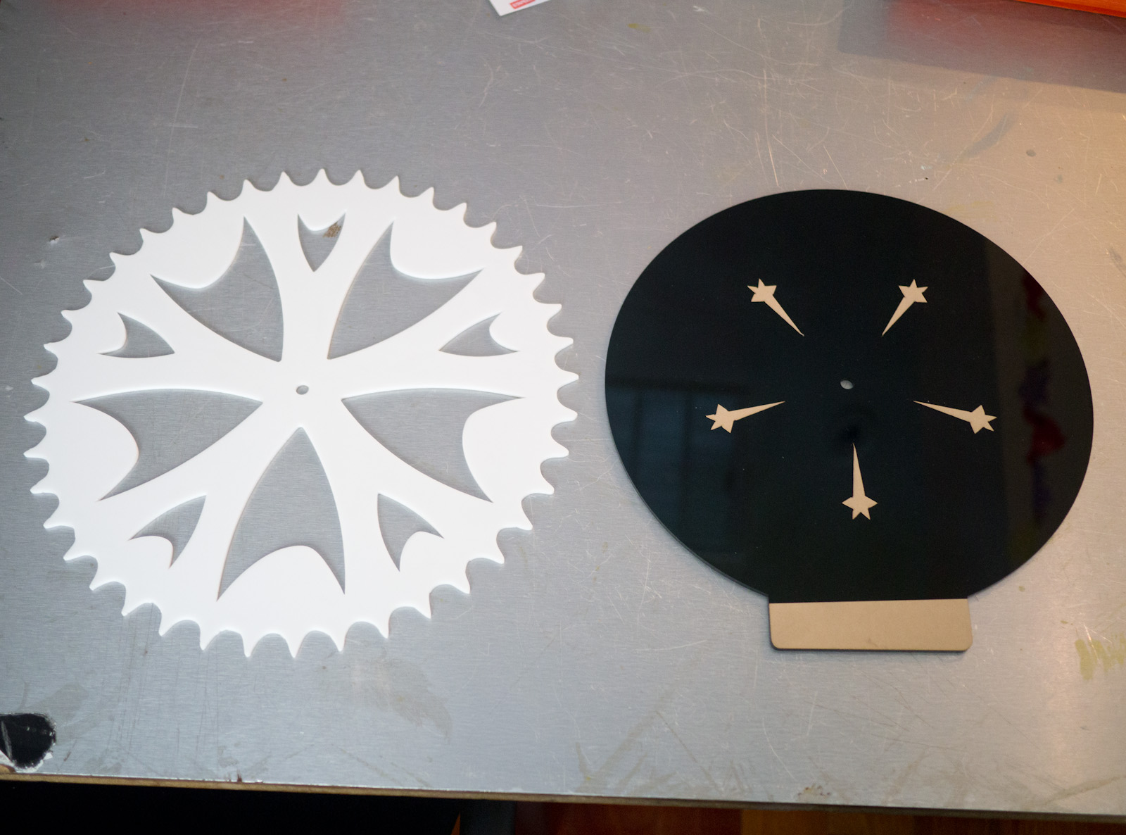Picture of Star Trek X Bicycle Clock