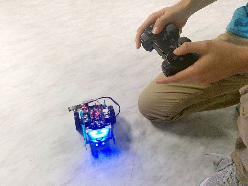 Picture of MBot Controlled by Wireless Joystick Using Me USB Host
