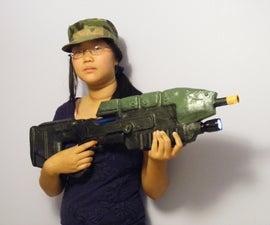HALO MA5B Assault Rifle prop - DJ Radio Gun of Righteousness