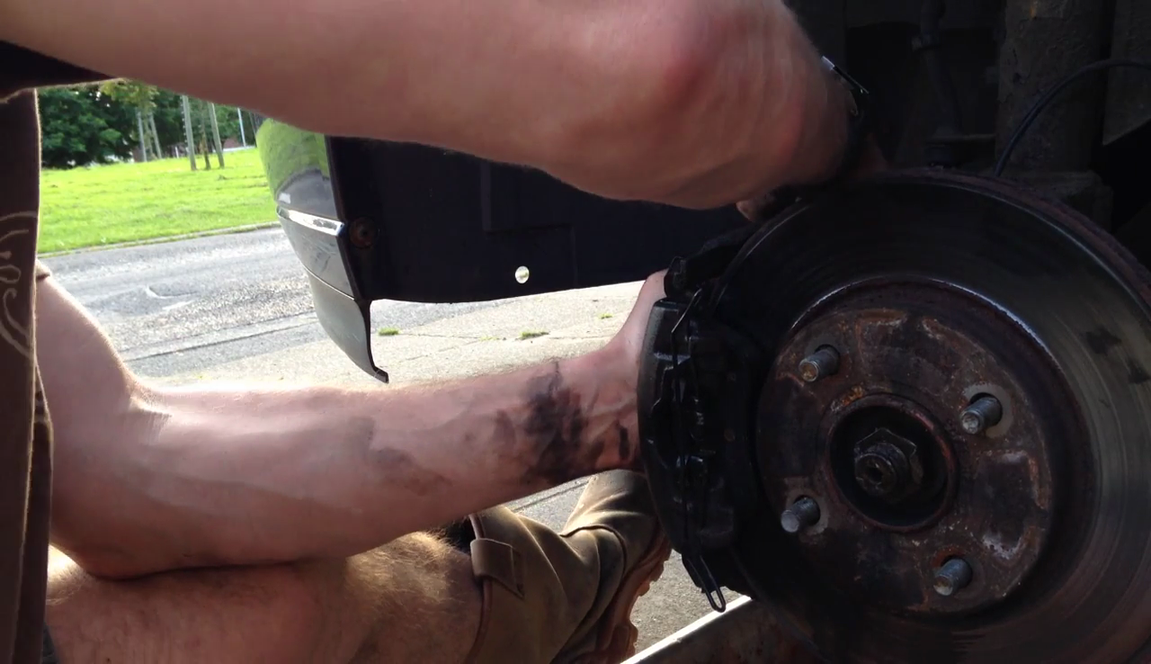 Picture of Replace Any Extra Parts, Refit the Caliper & Bleed the Brakes