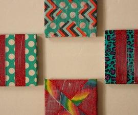 Decorative Tape Coasters