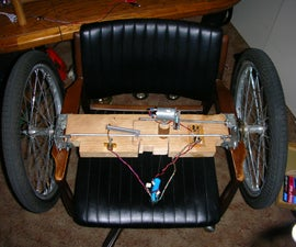 High-Torque Steering Mechanism for really large Remote Controlled toys