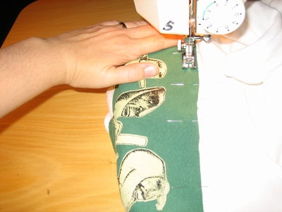 Sew the Cut-up Onto the Shirt-that-fits