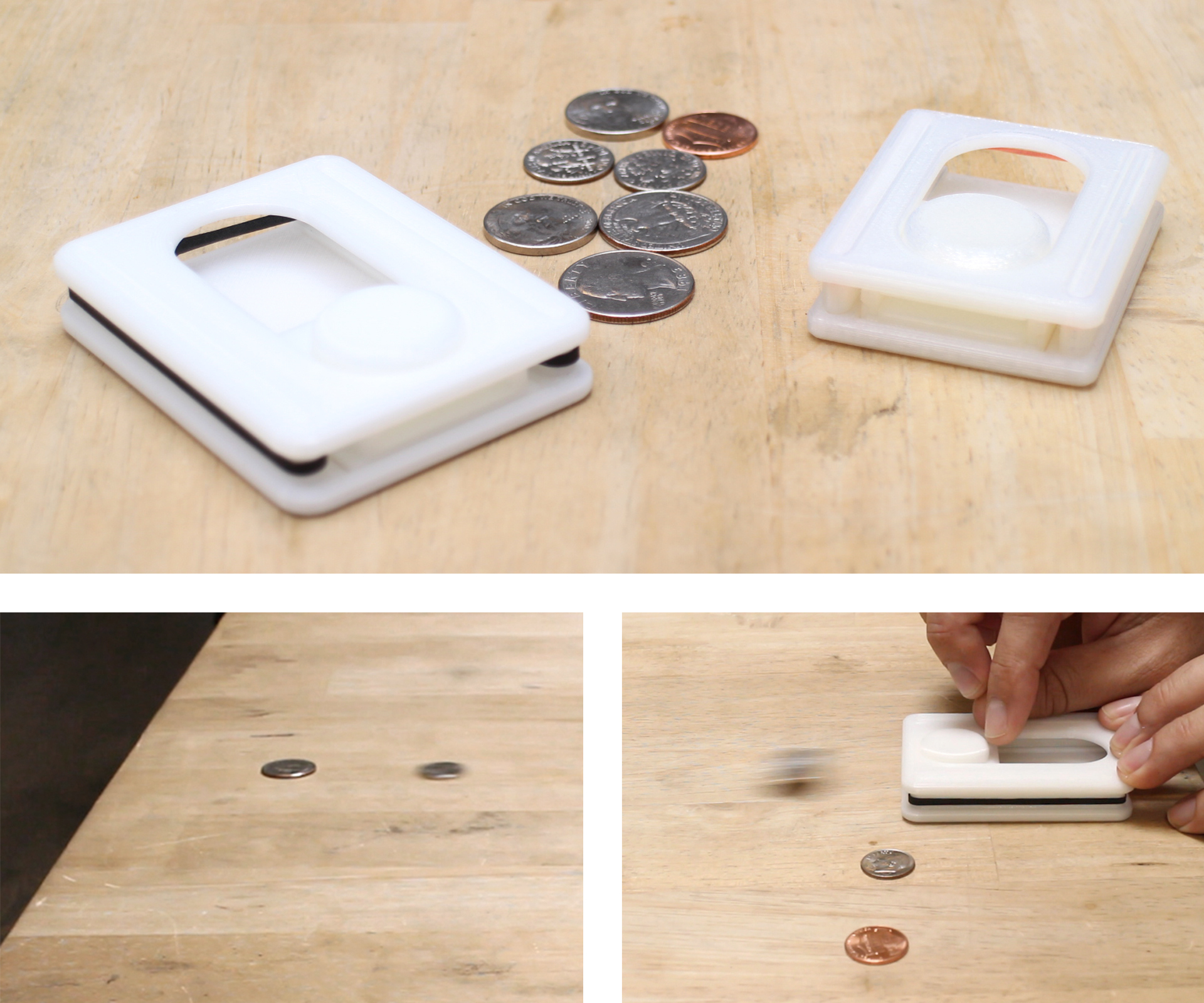 Picture of 3D Printed Coin Shuffleboard