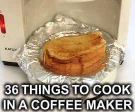 36 Things to Cook in a Coffee Maker