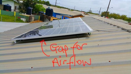 Solar Panels for Harvesting Sunlight.