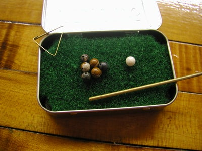 Pocket Yard Pool Table