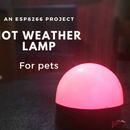 Weather Lamp - Changes Colour With Temperature