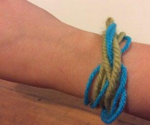 Easy Wool Bracelet