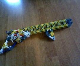 K'nex Gun K1 - 100 foot range!