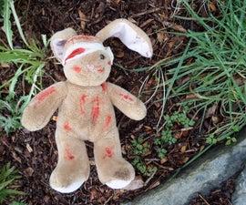 Teddy Halloween Prop