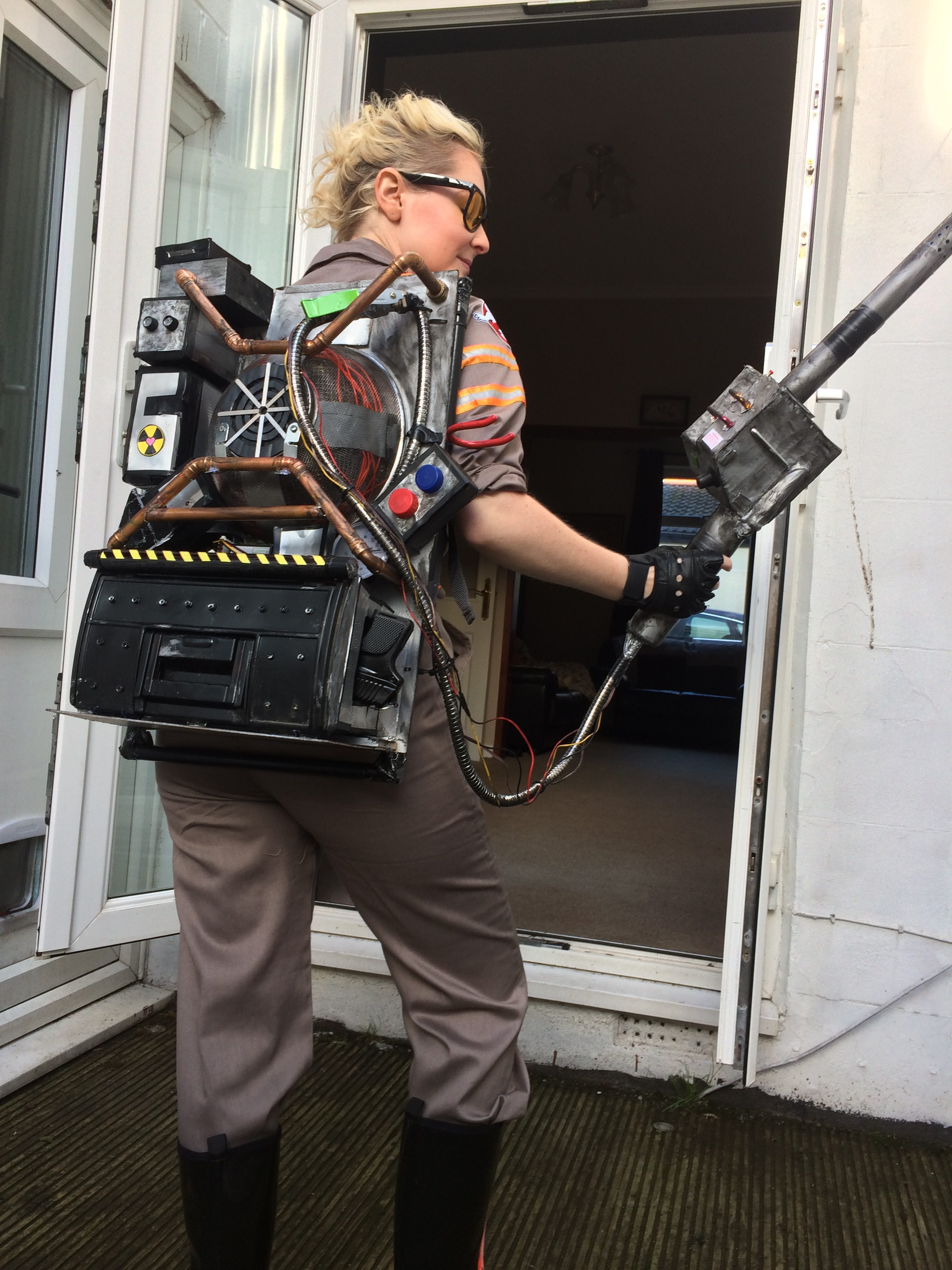 Picture of Scratch Built Ghostbusters 2016 Proton Pack