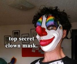 Top Secret Clown Mask