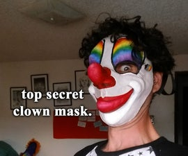 Top Secret Clown Mask