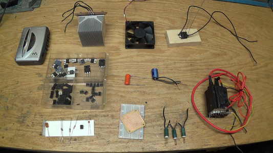 Electrical Parts You'll Need: