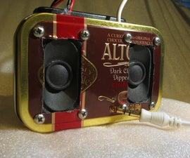 MintyBlaster - Altoids Stereo Speakers
