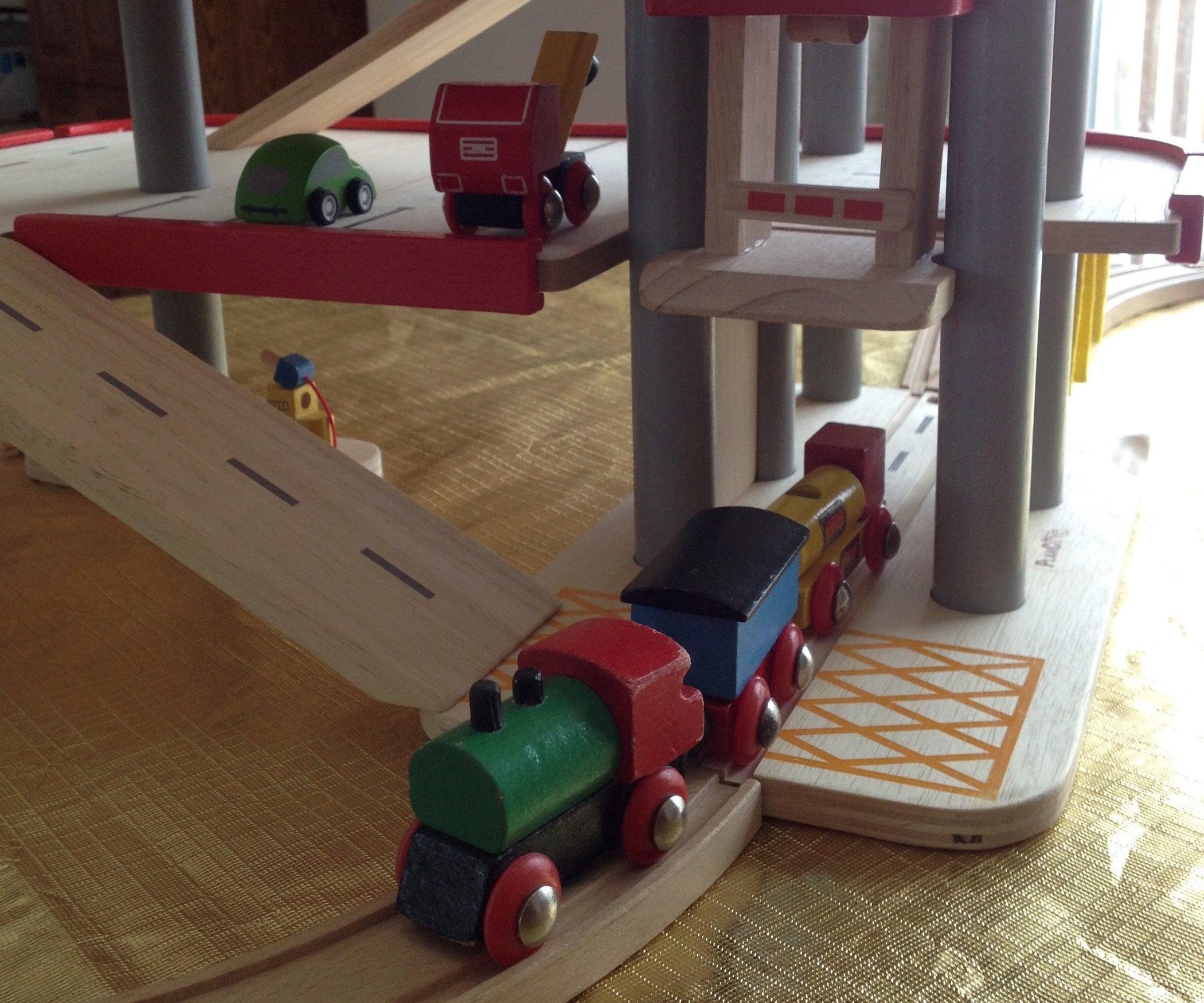 Garage Brio plantoys parking garage brio conversion: 5 steps (with pictures)