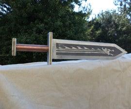 Aluminum Dragon Sword