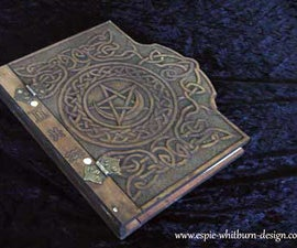 Hand Carved Book of Shadows