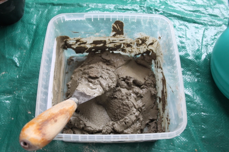 Picture of Concrete and Egg Mix