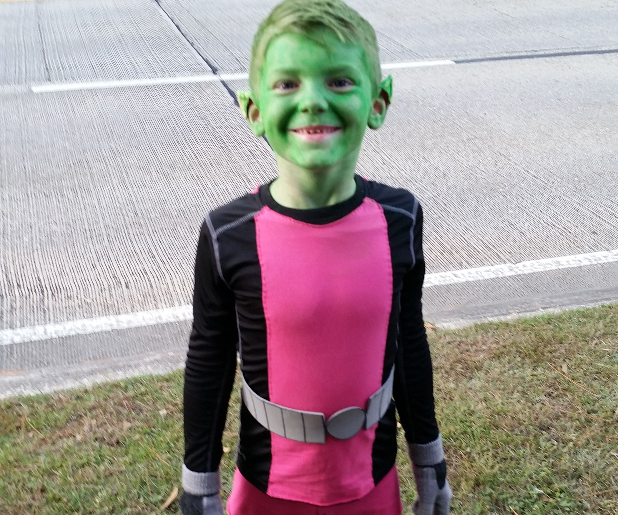 beast boy costume: 8 steps (with pictures)
