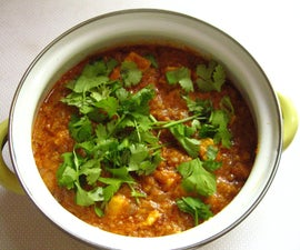 Paneer Butter Masala, an Indian Delicacy Made With Home-Made Cheese