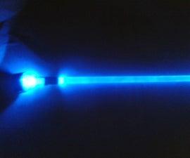Light saber (Star-wars) DIY