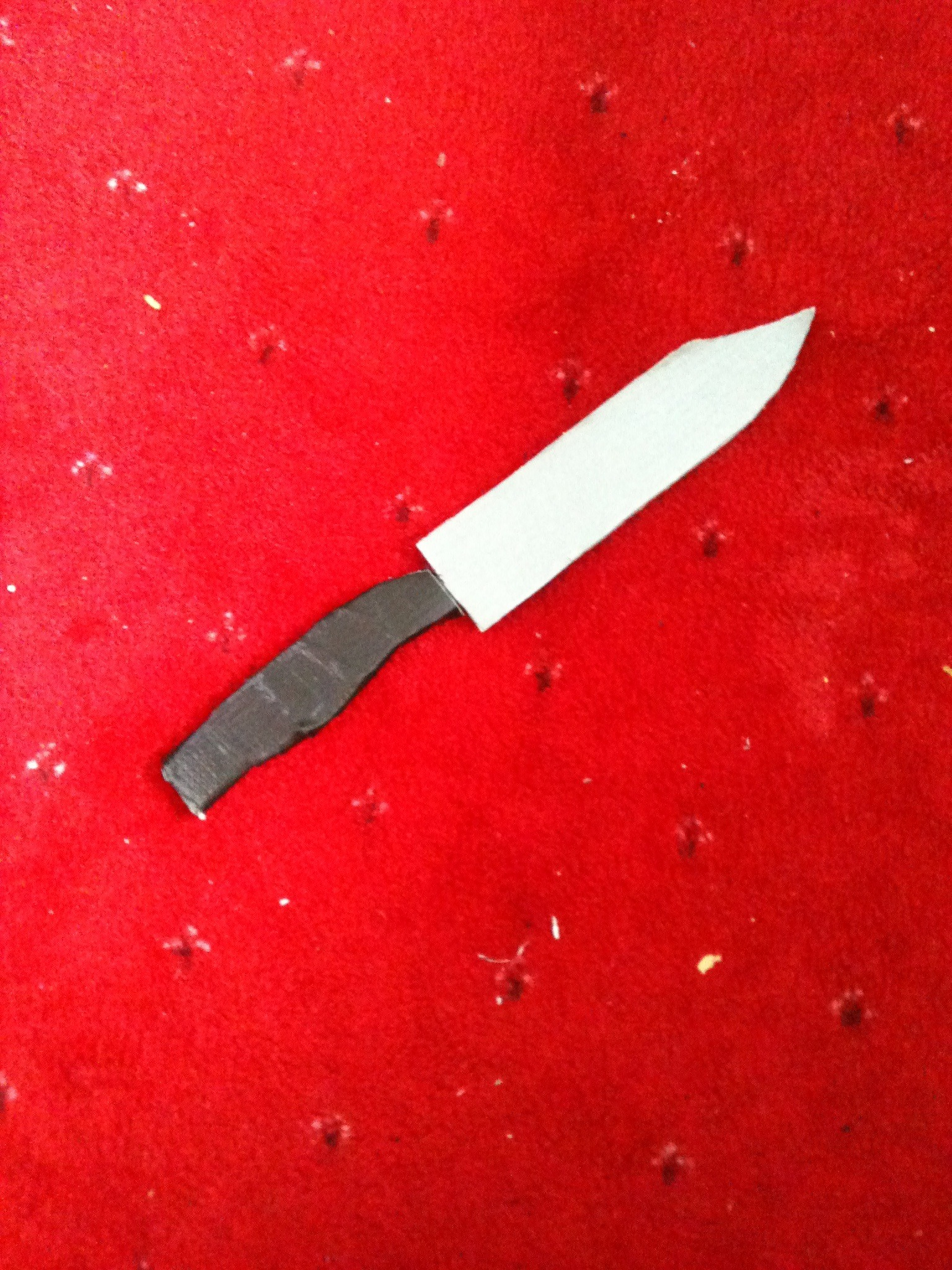 Picture of Cardboard Military/Combat Knife