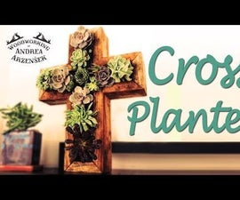 Make a Vertical Succulent Planter!