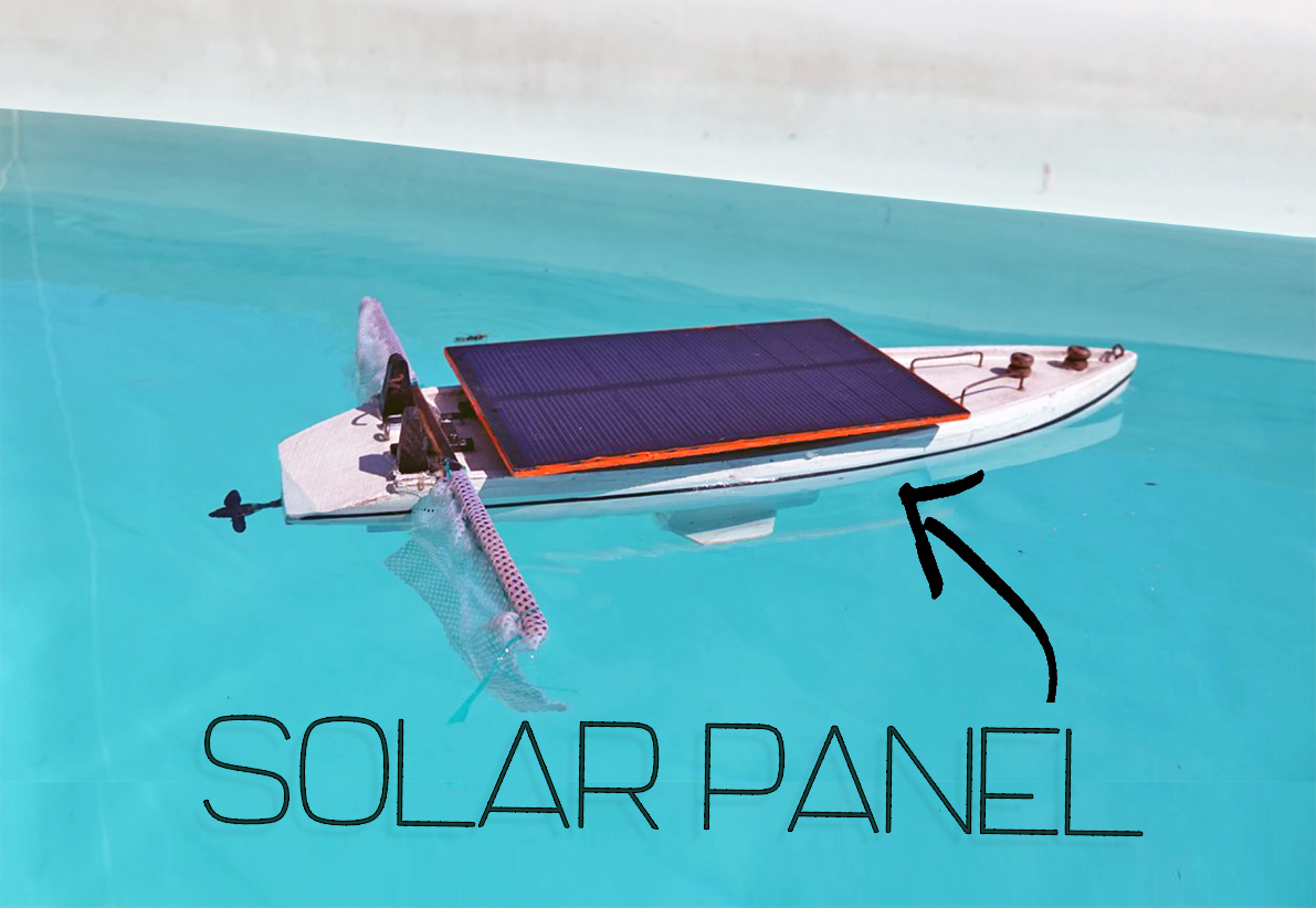 Picture of Solar Panel Boat for Life Rescue