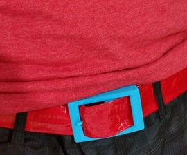 3D Printed Duct Tape Belt