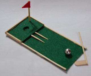 Tiny Golf, the Mini Golf Hole on Your Desk