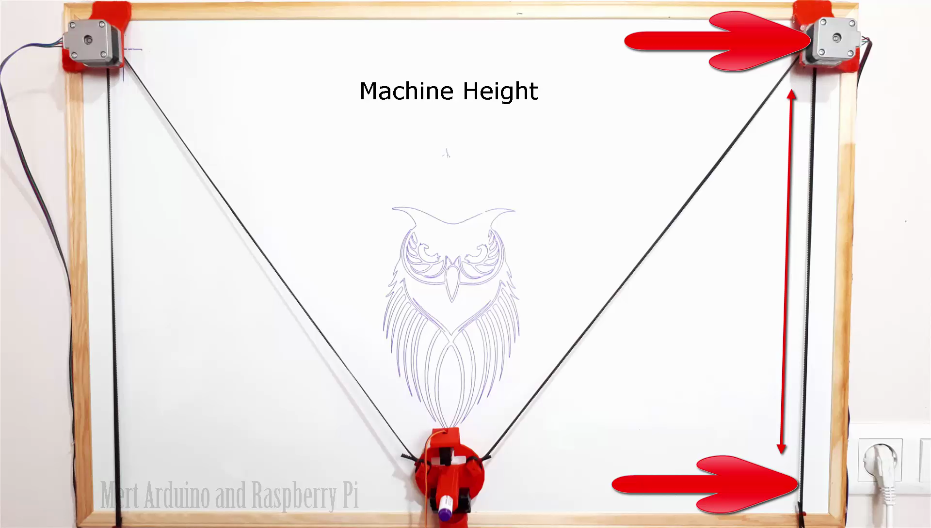 Picture of Machine Dimensions
