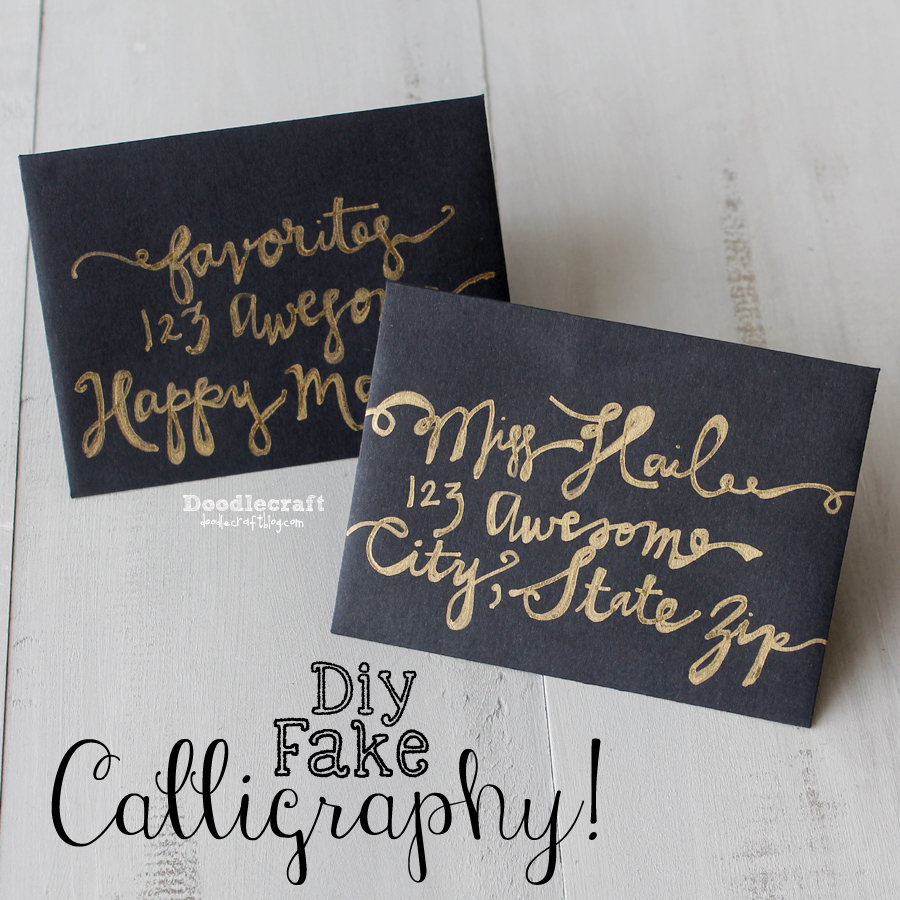 Picture of How to Fake Script Calligraphy!