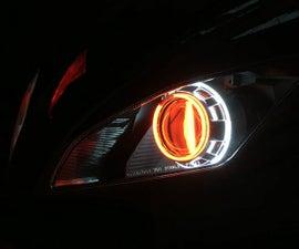 Yamaha R6 Halo Headlight Mod