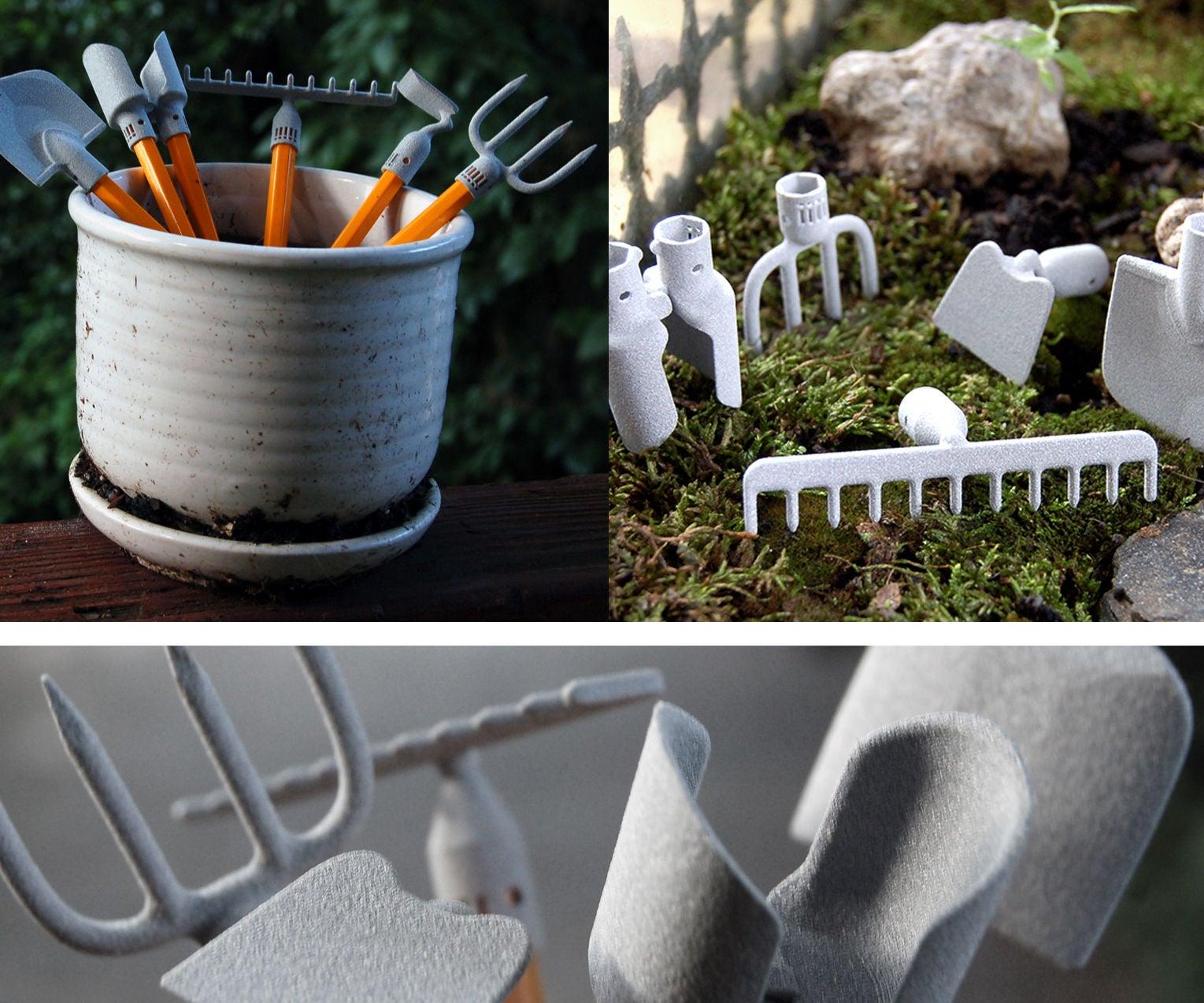 How to Make a Set of Desktop Gardening Tools